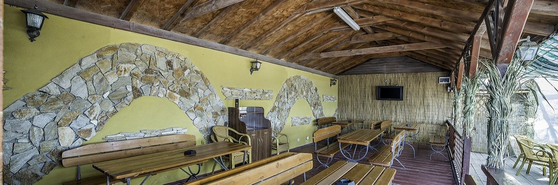 Hotel Victory Vama Veche - Restaurant terasa 1