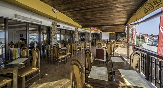 Hotel Victory Vama Veche - restaurant exterior